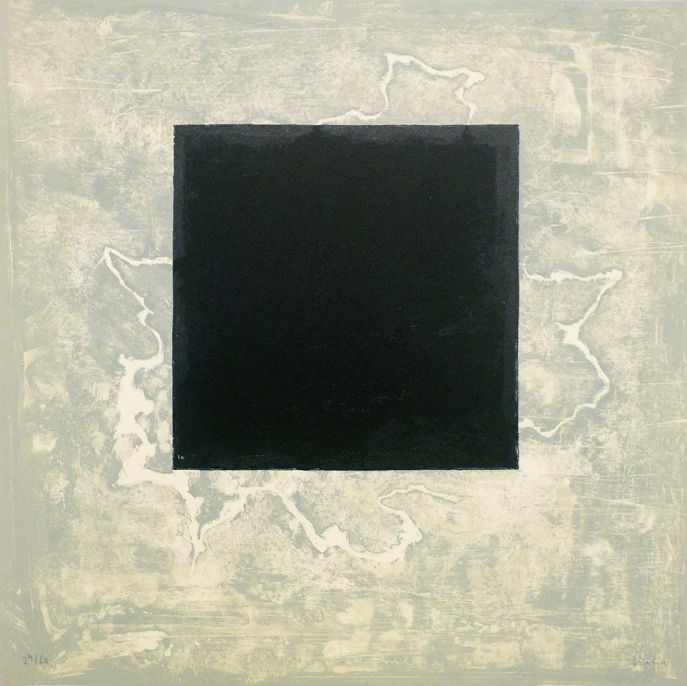 """Jim Bird · """"Ochre with black gesture"""""""