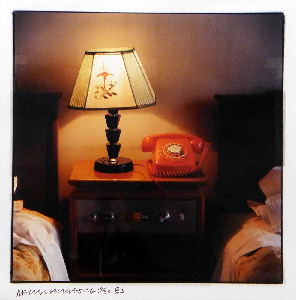 Hotel room - ROBERT RAUSCHENBERG - RRA 0002